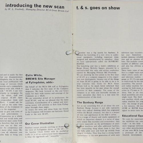 SCAN Magazine December 1965