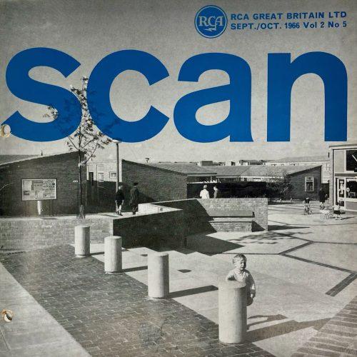 RCA Great Britain Ltd, SCAN Magazine, Sept/Oct 1966, Vol 2 No 5.