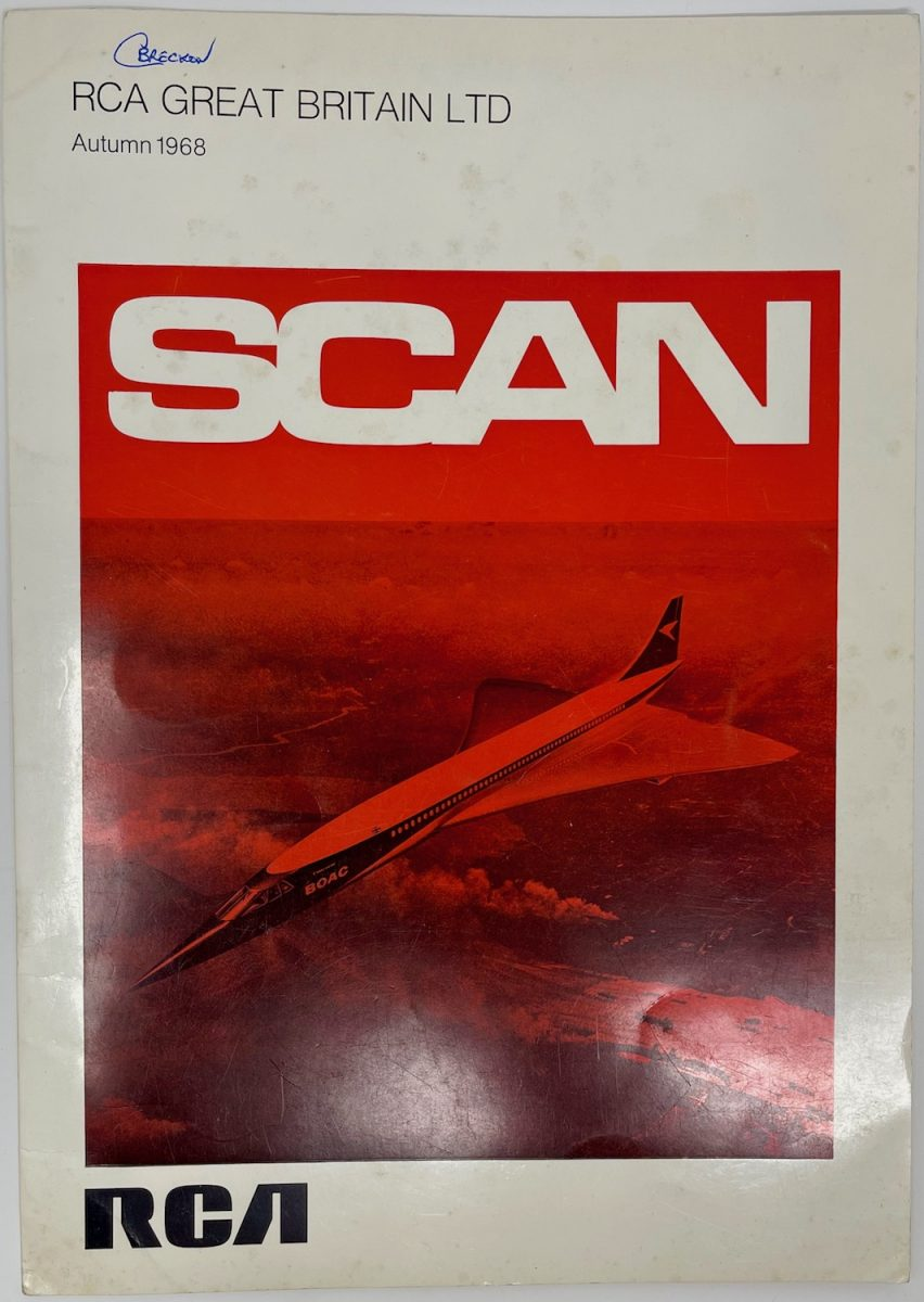 RCA Great Britain Ltd, SCAN Magazine, Autumn 1968