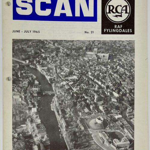RCA RAF Fylingdales, SCAN, June - July 1965 No. 21