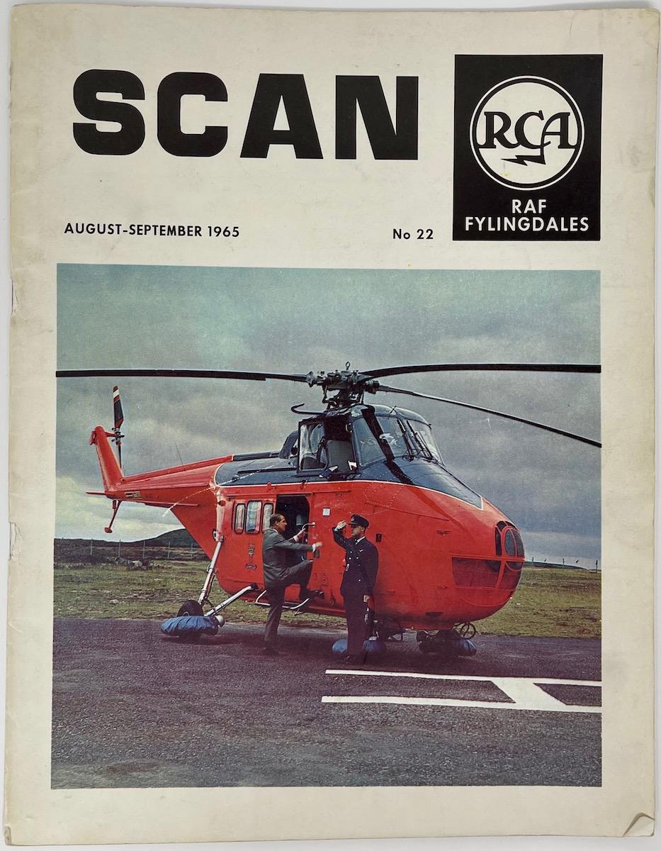 RCA RAF Fylingdales, SCAN, August - September 1965, No. 22