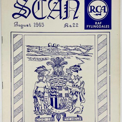 RCA RAF Fylingdales, SCAN, August 1965, No. 22