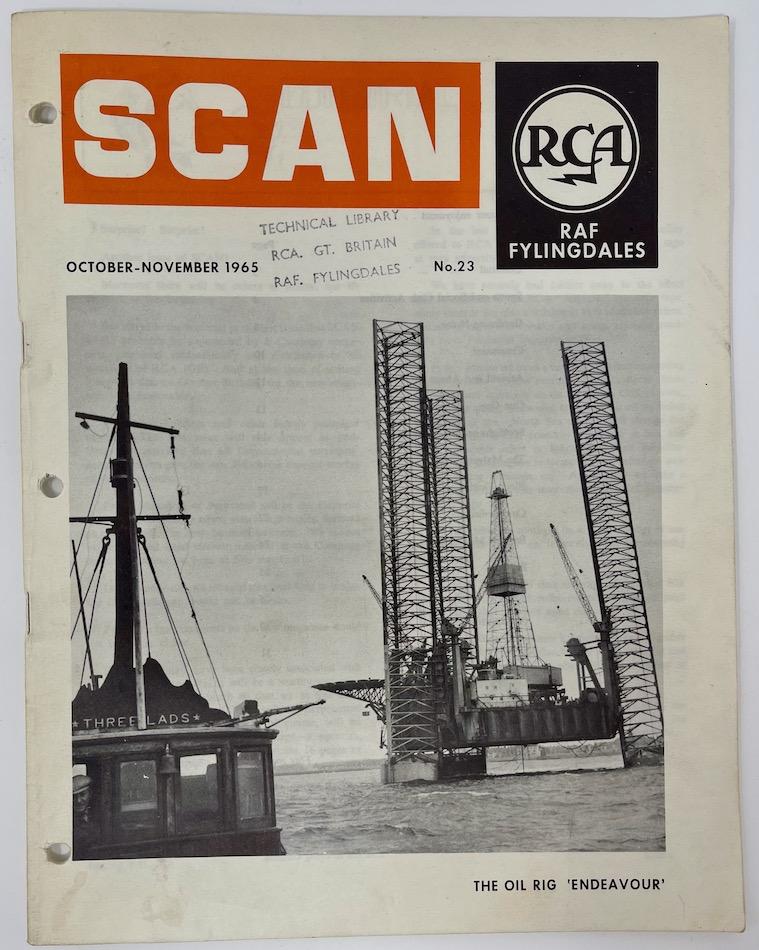 SCAN, RCA, RAF Fylingdales, October - November 1965 No.23