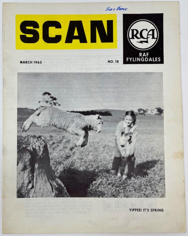 SCAN, RCA, RAF Fylingdales, March 1965 No.18