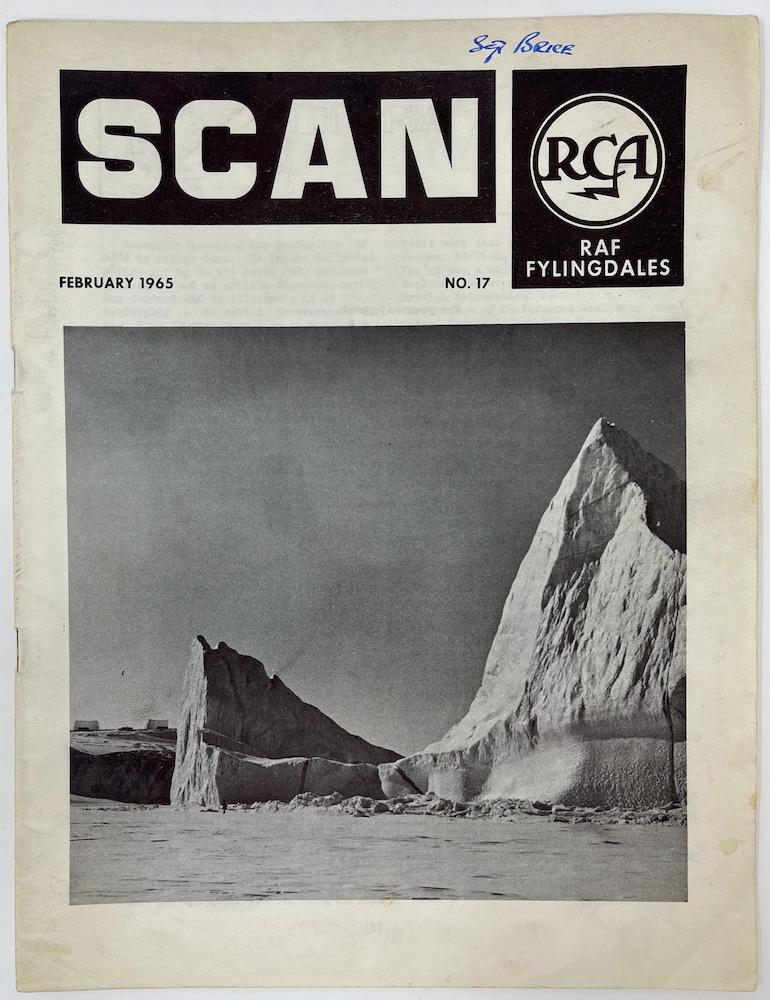 SCAN, RCA, RAF Fylingdales, February 1965 No.17