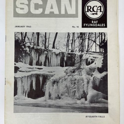 RCA RAF Fylingdales, SCAN, January 1965 No.16