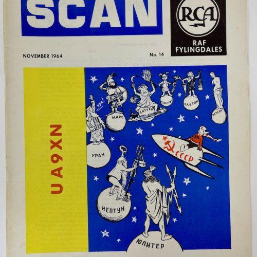 RCA RAF Fylingdales, SCAN, November 1964 No.14