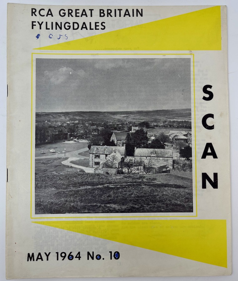 RCA Great Britain Fylingdales, SCAN, May 1964 No.10