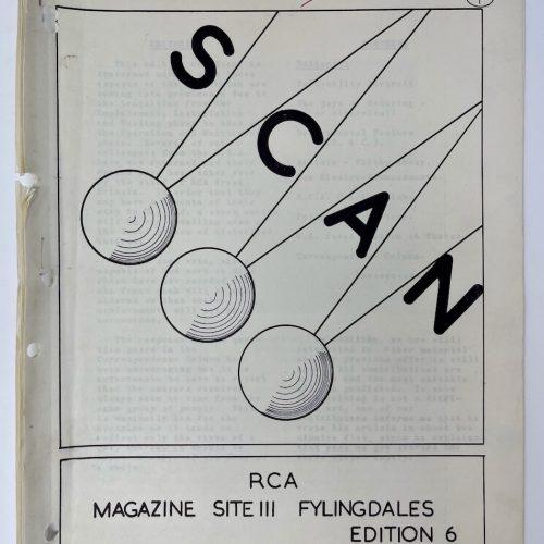SCAN, RCA Magazine, Site III Fylingdales, Edition 6