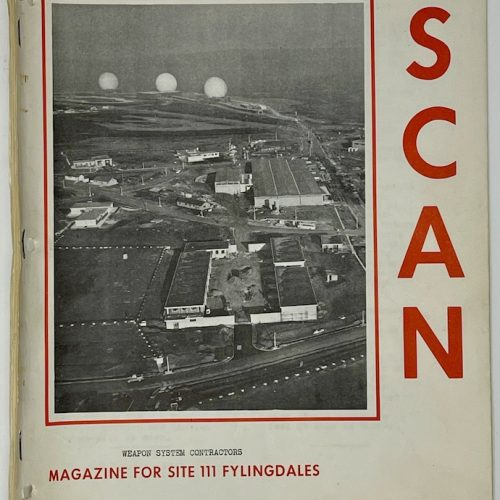 SCAN Weapon System Contractors Magazine for Site 111 Fylingdales, Second Edition - January 1963