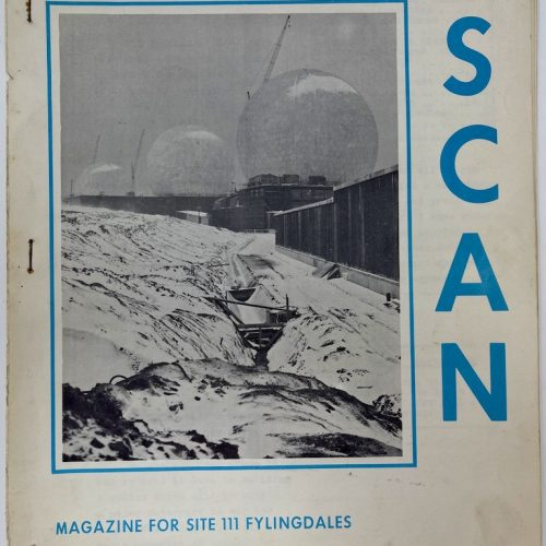 SCAN Magazine for Site 111 Fylingdales First Edition - December 1962