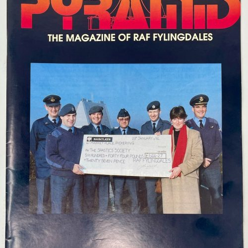 PYRAMID, The Magazine of RAF Fylingdales, Issue No.2 March/April/May 1992