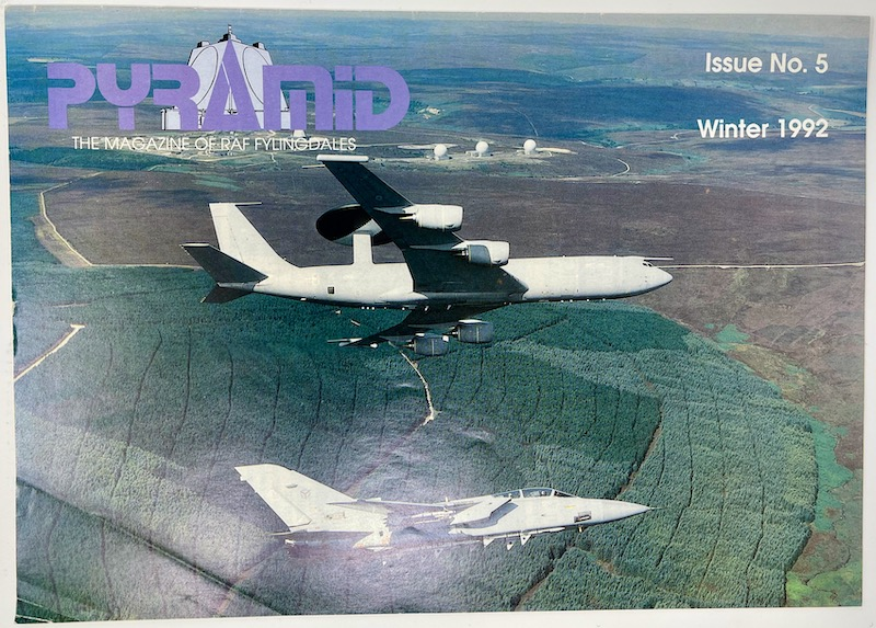 PYRAMID, The Magazine of RAF Fylingdales, Issue No.5 Winter 1992