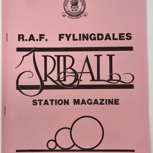 R.A.F Fylingdales Triball Station Magazine, January 1987