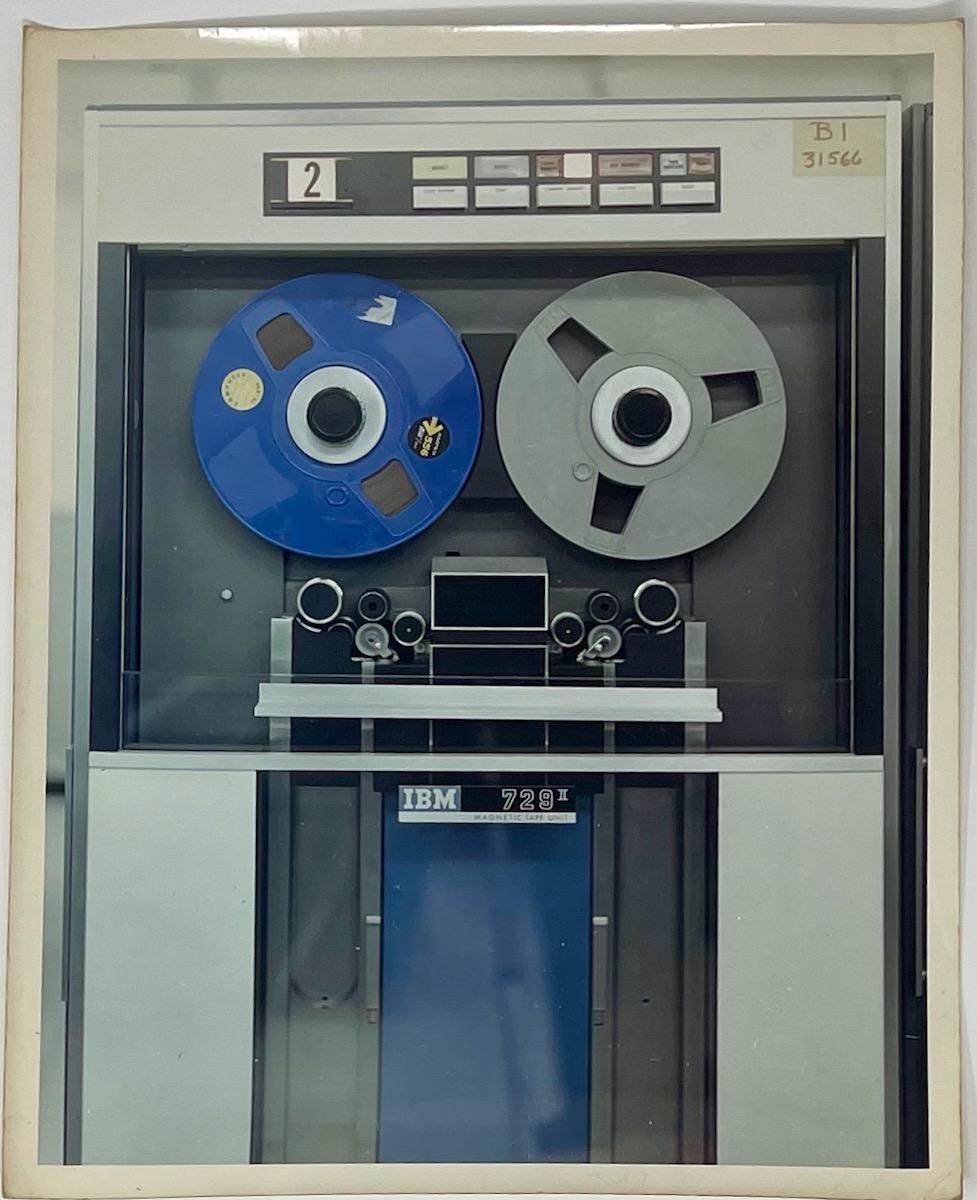 Dennis Wompra Studios Collection, Missile Impact Predictor (M.I.P) IBM 7090