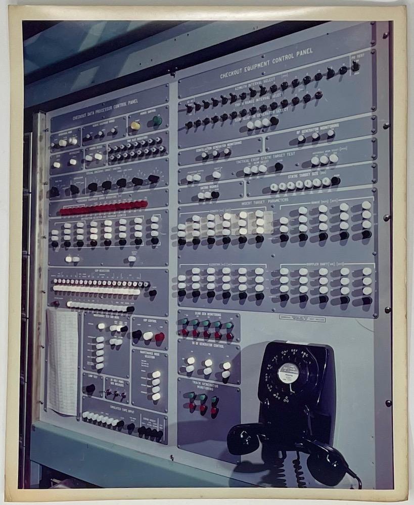 Dennis Wompra Studios Collection, Data Take Off (DTO) control panel