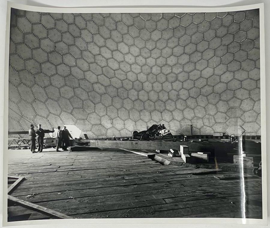 Dennis Wompra Studios Collection, internal ground view of radome