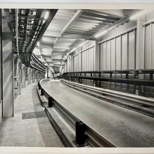 Dennis Wompra Studios Collection, RAF Fylingdales access tunnel