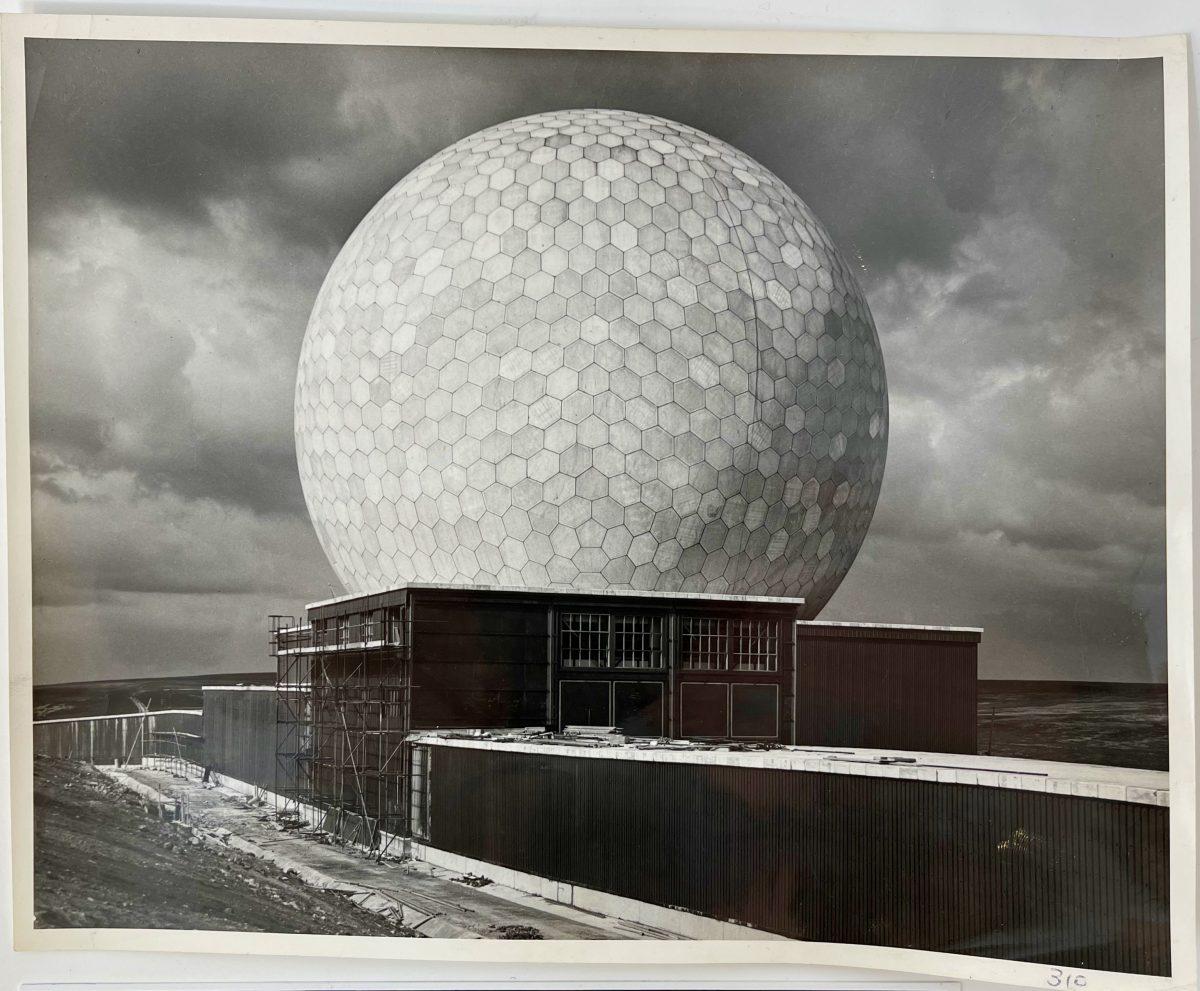 Dennis Wompra Studios Collection, 2 April 1963, RAF Fylingdales