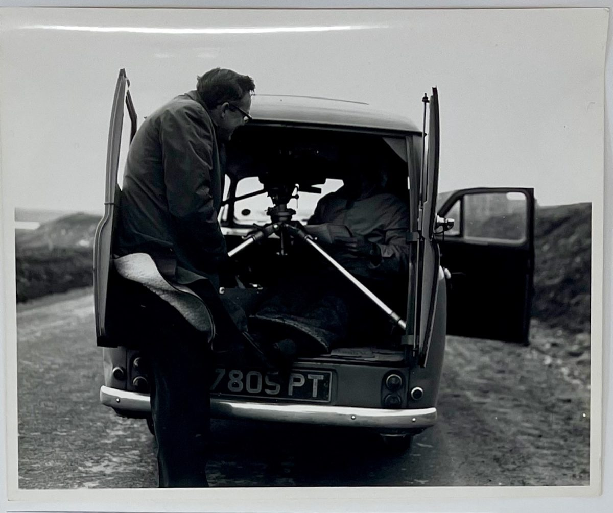 Dennis Wompra Collection, Dennis Wompra at RAF Fylingdales