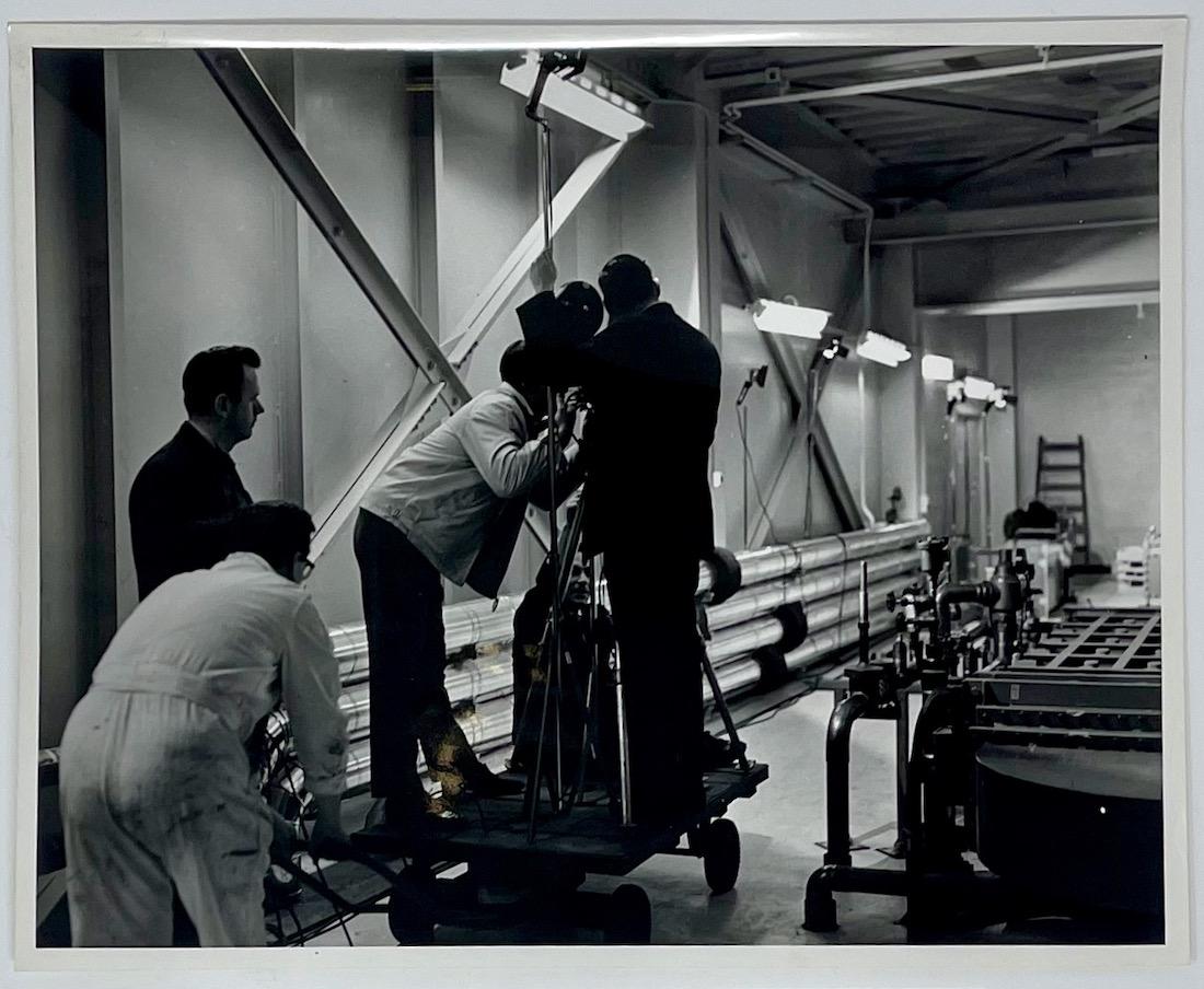 Dennis Wompra Studios Collection, Yorkshire Television crew filming at RAF Fylingdales