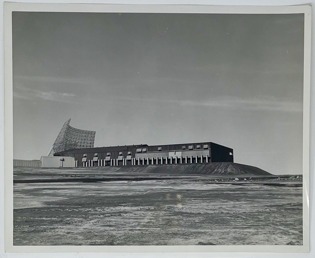 Dennis Wompra Studios Collection. Image of BMEWS BMEWS Site I, Thule Greenland