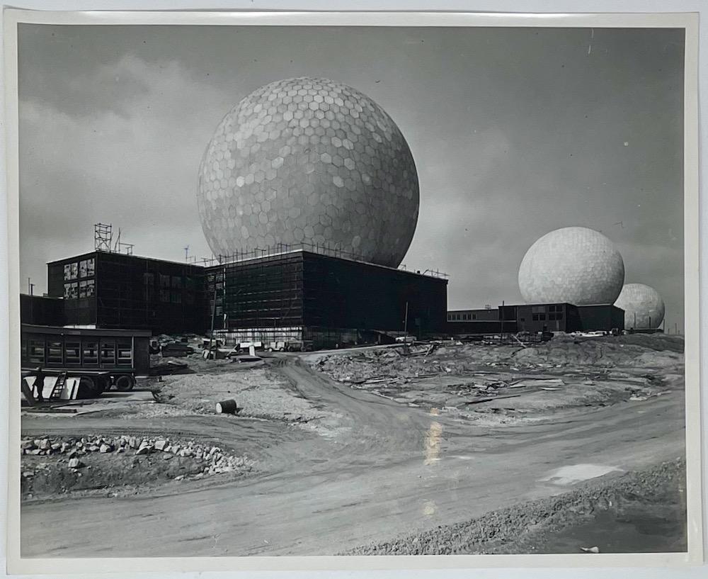 ennis Wompra Studios Collection, 6 April 1963 radomes complete