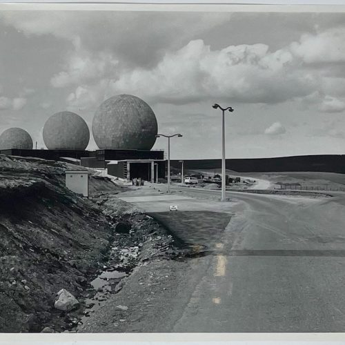 Dennis Wompra Studios Collection, 6 May 1963, radomes access tunnel and approach road completed