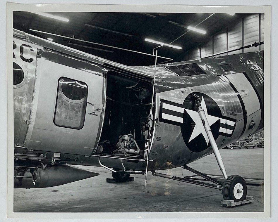 Dennis Wompra Studios Collection, USAF helicopter