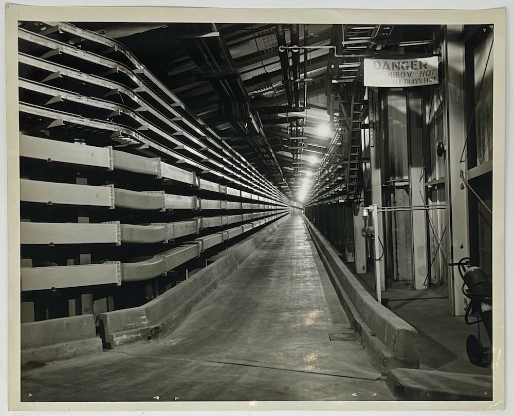 Dennis Wompra Studios Collection, 18 March 1960, service tunnel BMEWS Site I, Thule Greenland