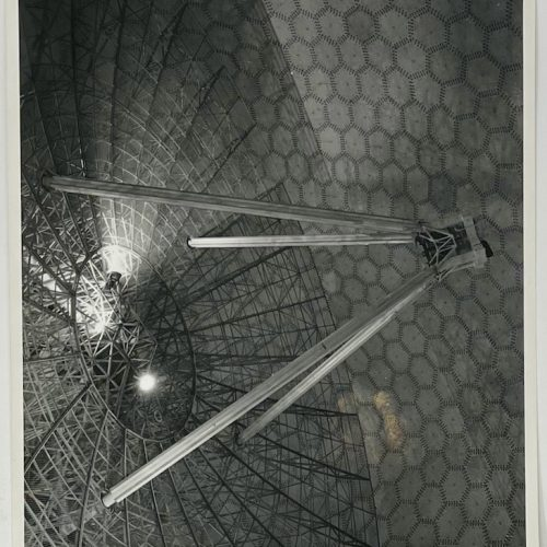 Dennis Wompra Studios Collection, image of the radar antenna and radome panels