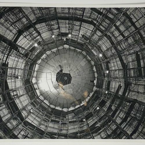 Dennis Wompra Studios Collection, internal view of completed radome