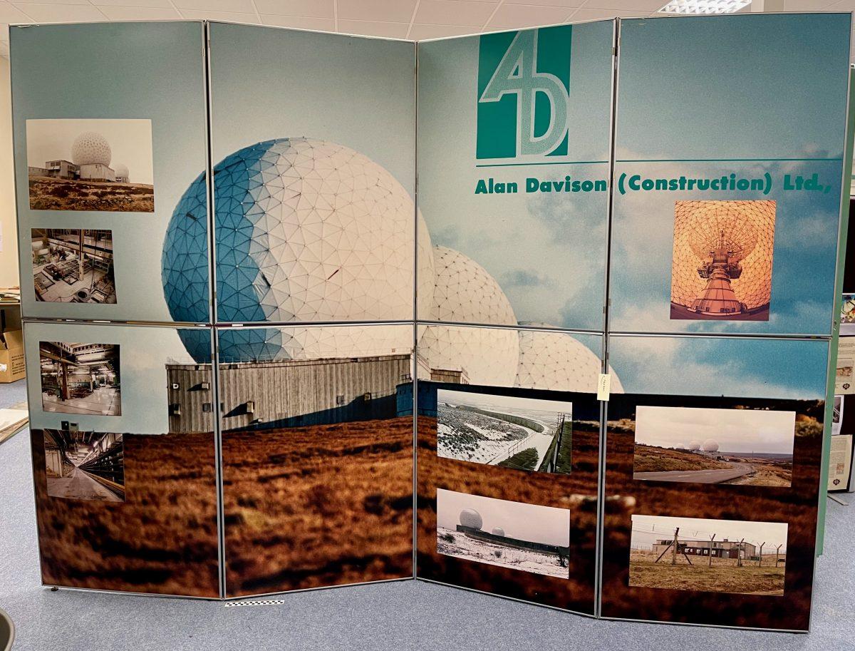 Alan Davison Construction Ltd display board