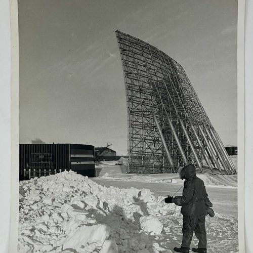 RCA BMEWS Site I, Thule Greenland, 3 September 1960