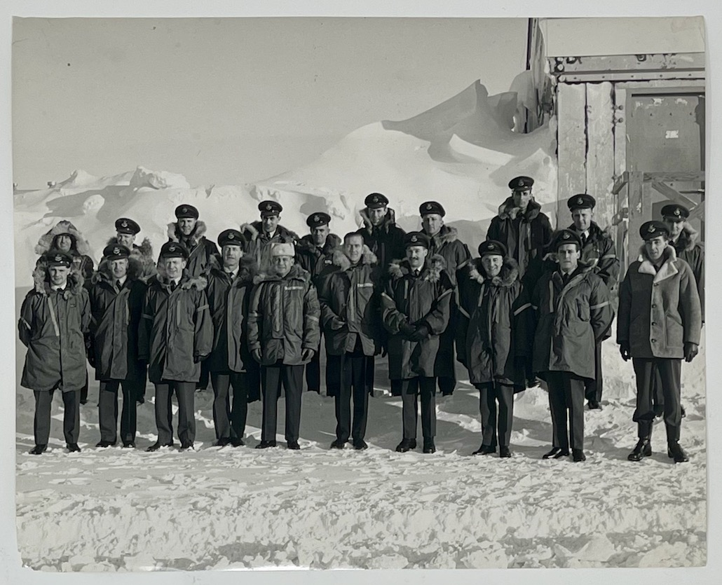 RCA BMEWS Site I, Thule Greenland, 16 March 1963