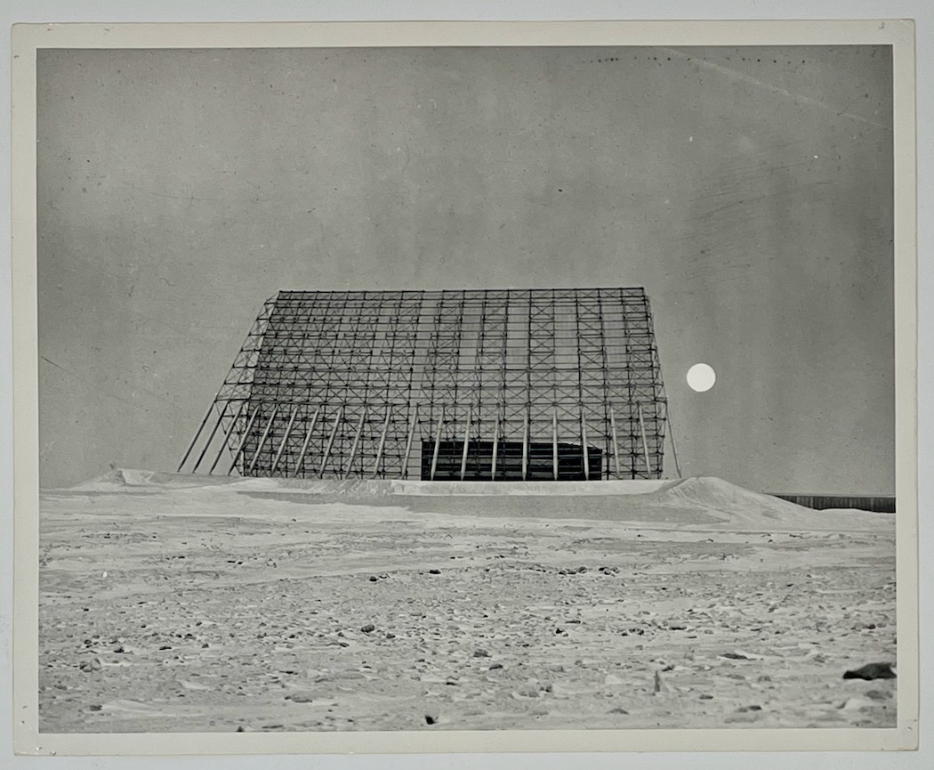 RCA BMEWS Site I, Thule Greenland, moon and detection radar